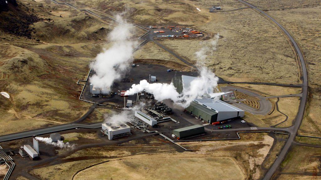 Islandia ha creado una planta que llega a purificar el aire atmosférico de  la contaminación